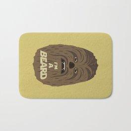 I'm a beard Bath Mat