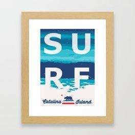 Catalina Island.  Framed Art Print