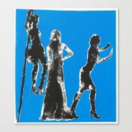 Bond Girls Canvas Print