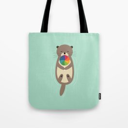 Sweet Otter Tote Bag
