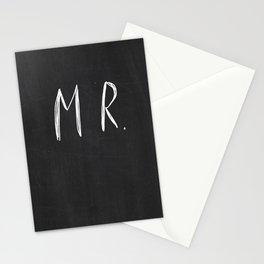 Mr & Mrs - wedding decoration Stationery Cards