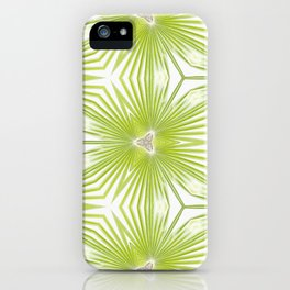 Palm Frond Play iPhone Case