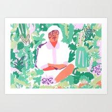 Plant Goals Art Print