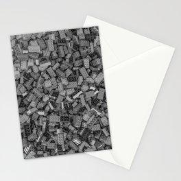 Master builder B&W Stationery Cards