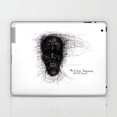 Scribble Face Laptop & iPad Skin
