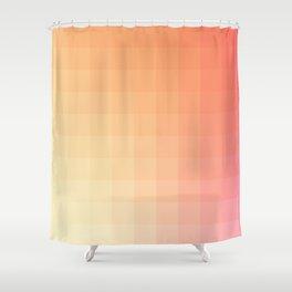 Lumen, Pink and Orange Light Shower Curtain