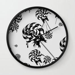 Goth Lollies Wall Clock