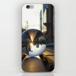 The World from another Perspective iPhone Skin
