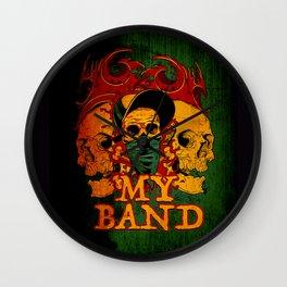 My Band Wall Clock