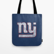 New Jersey Football Giants Tote Bag