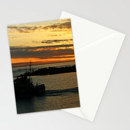 The End Of A Beautiful Day Stationery Cards