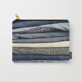 Jeans Carry-All Pouch