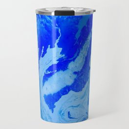 Fluid Blue Travel Mug
