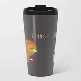 Retro Lover Metal Travel Mug