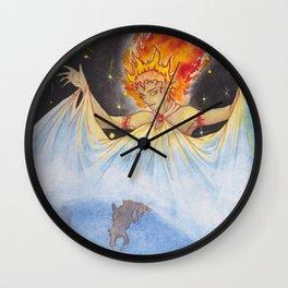 Goddess Sun Wall Clock