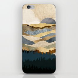 Golden Vista iPhone Skin