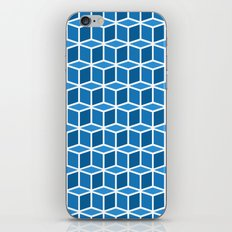 Blue Boxes iPhone & iPod Skin