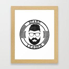Beard leader Framed Art Print