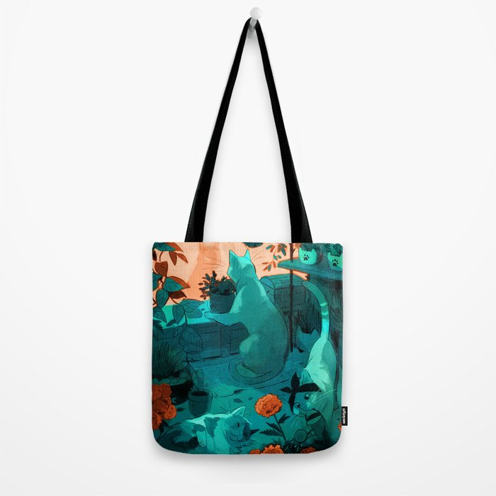 Small flower shop Tote Bag
