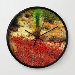 Eureka Peak Wall Clock