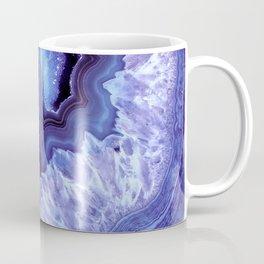 Periwinkle Blue Quartz Crystal Coffee Mug