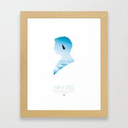 Man of Steel Poster Framed Art Print