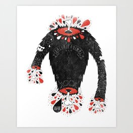 SALVAJEANIMAL headless II Art Print