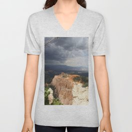 Dark Skies Over Bryce Canyon National Park Unisex V-Neck