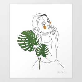 Green Time in the Meantime - 1 Art Print