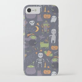 Cute Happy Halloween iPhone Case