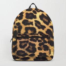 Leopard Print pattern - Leopard spots - Texture Backpack