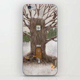 merry berry wood iPhone Skin