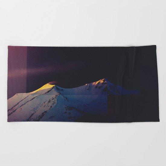 Fractions A84 Beach Towel