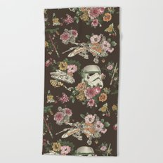 Botanic Wars Beach Towel