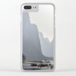 Li River China Clear iPhone Case