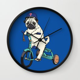 Haters Gonna Hate Phillies Wall Clock