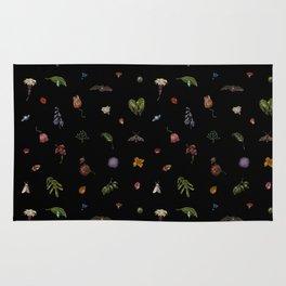 Nocturnal Floral Rug