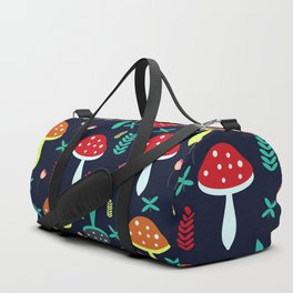 Multicolored mushrooms Duffle Bag