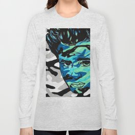 Marlon Brando: Double Vision Long Sleeve T-shirt