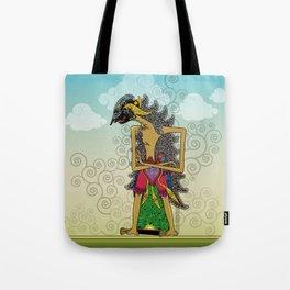 Wayang Arjuna Tote Bag