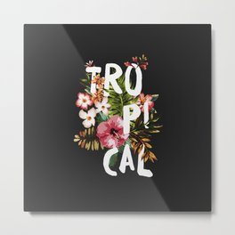 Tropical II Metal Print