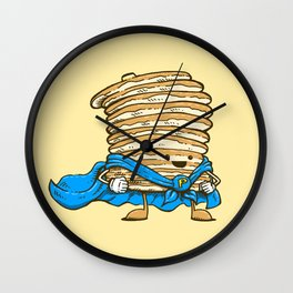 Captain Pancake Wall Clock
