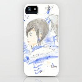 Legend of Korra - Korra Watercolour iPhone Case