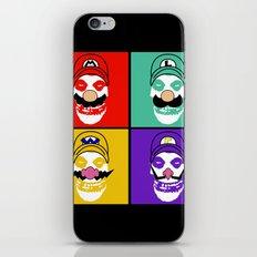 N. Misfit 4 (b) iPhone & iPod Skin