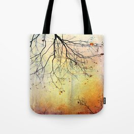 november gold Tote Bag