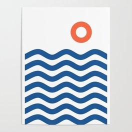 Nautical 02 Seascape Poster