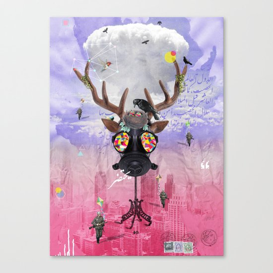 Ozone Is Dying Canvas Print