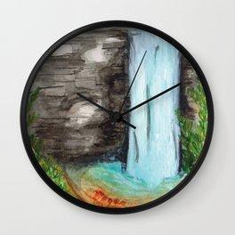 Hidden Places Wall Clock