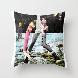 Unisom Throw Pillow