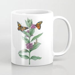 Monarch Butterfly Life Cycle Coffee Mug